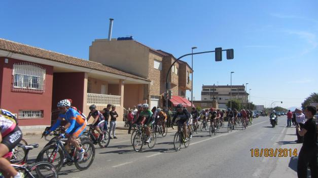 Carrera ciclista Interclub Cartagena. 8ª etapa 16.03.2014